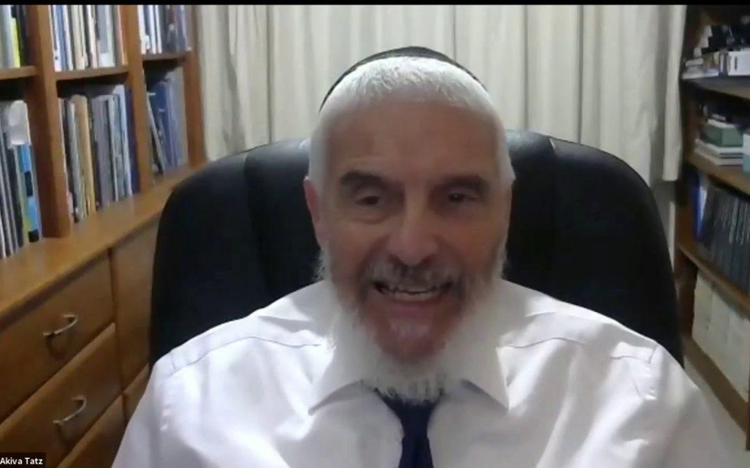 Rabbi Dr. Akiva Tatz – Q&A Part 1 (Zoom)