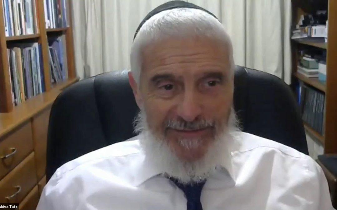 Rabbi Dr. Akiva Tatz – Q&A Part 2 (Zoom)