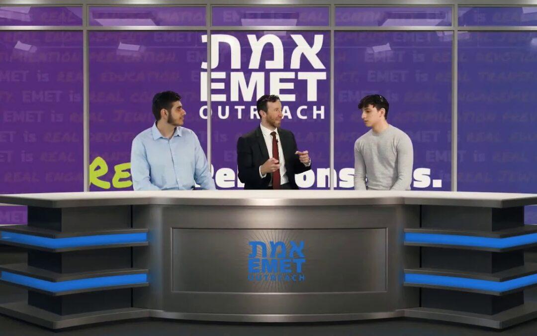 1. Rabbi Kigel Interviews Michael Daniel & Nathaniel