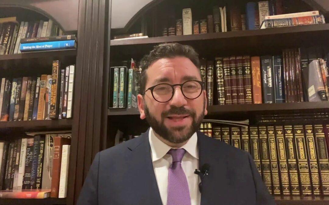 Rabbi Akiva Rutenberg – Parshat Vayeira – Transform Your Life Through Giving