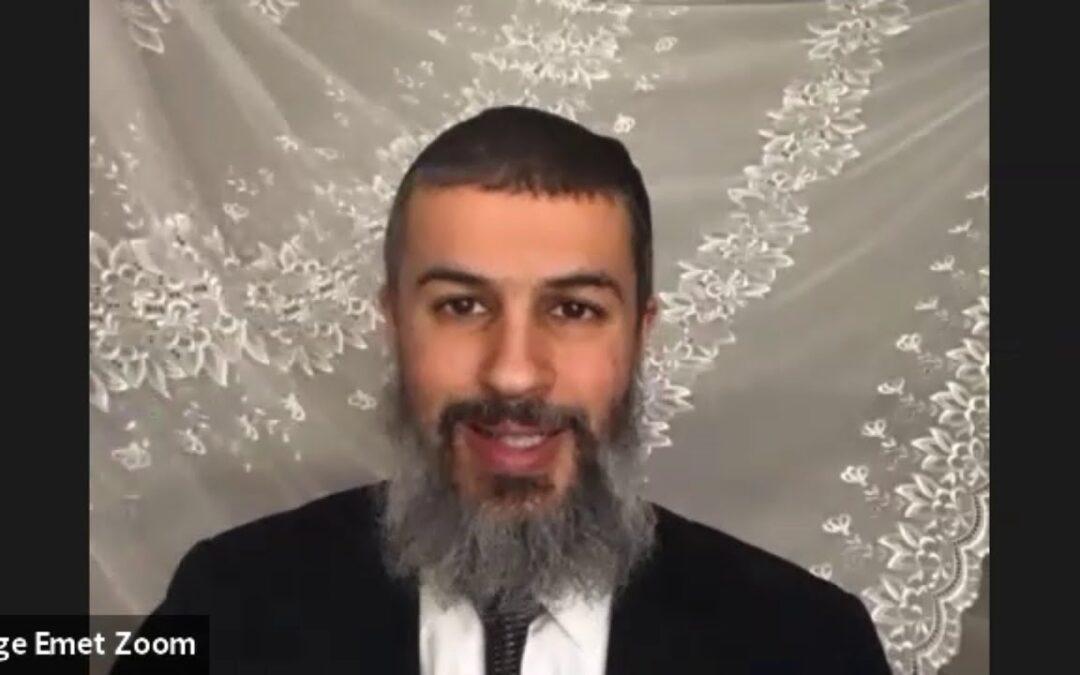 Rabbi Binyamin Yuhanan – Parashat Vayetze