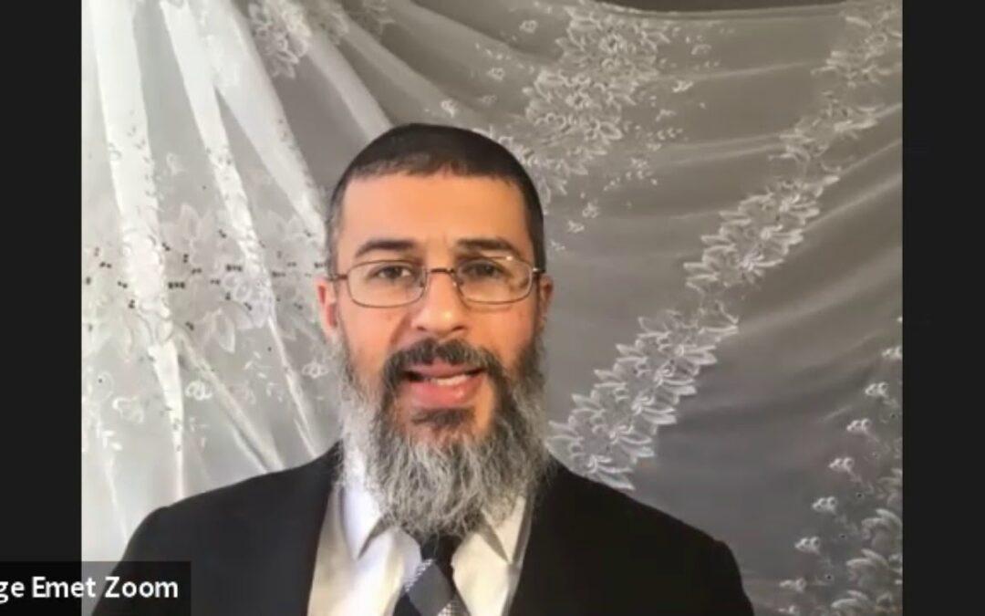 Rabbi Binyamin Yuhanan – Parashat Toldot
