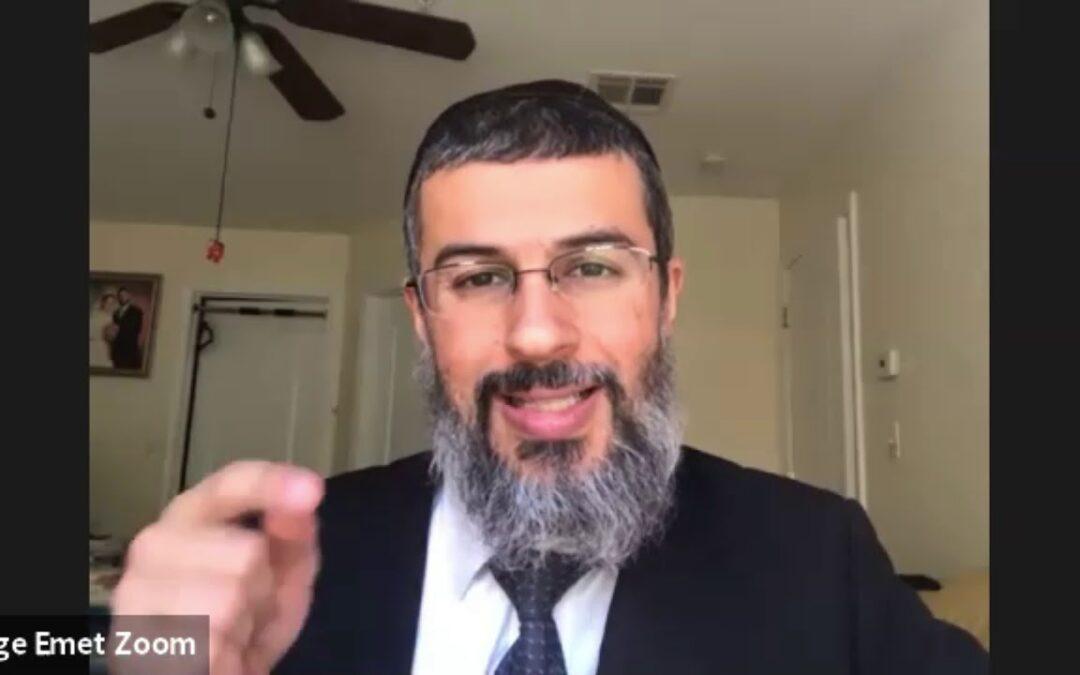Rabbi Binyamin Yuhanan – Parashat Vayera