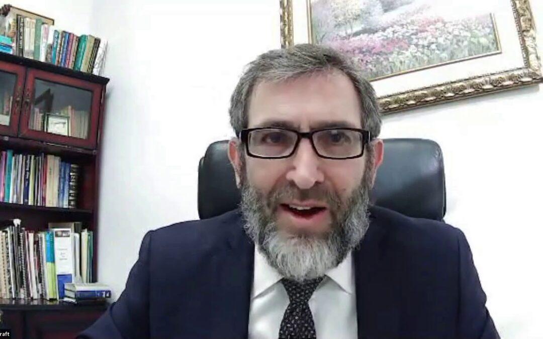Rabbi Mordechai Kraft – Parashat Vayigash