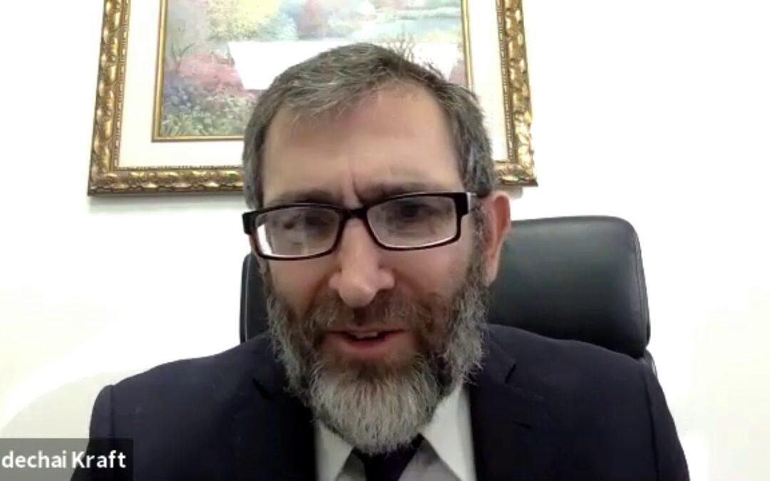 Rabbi Mordechai Kraft – Chanukah – Parashat Miketz